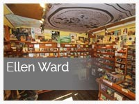 Ellen Ward at Dingle Record Shop